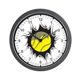 Tennis Inside Wall Clock