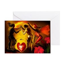 DANCE OF LIFE - Greeting Card