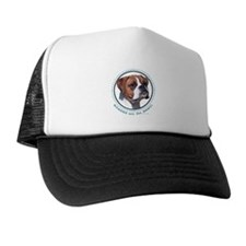 Boxers Are BEST (nat) Trucker Hat