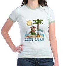 Lets Luau Girl Monkey T