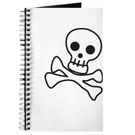 Cute Skull Journal