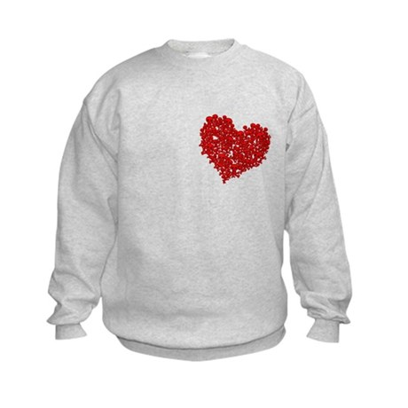 Heart of Skulls Kids Sweatshirt