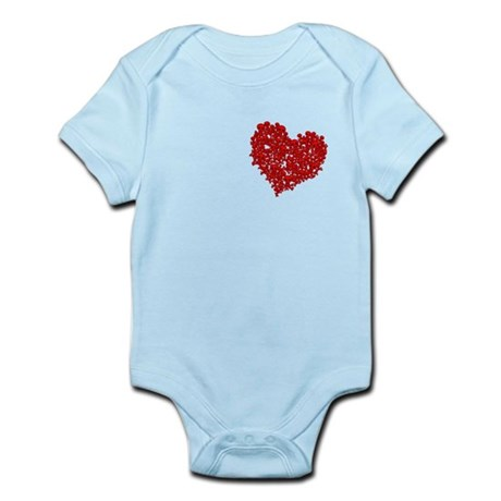 Heart of Skulls Infant Bodysuit