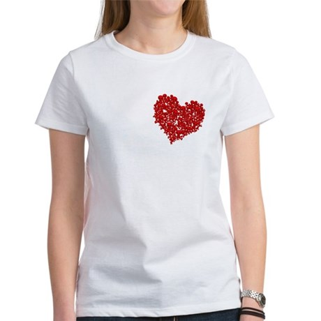 Heart of Skulls Women's T-Shirt