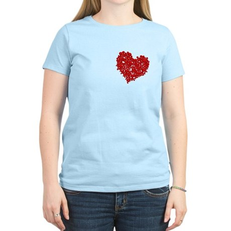 Heart of Skulls Women's Light T-Shirt