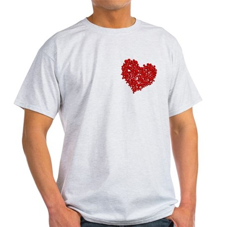 Heart of Skulls Light T-Shirt