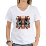 Maori Women's V-Neck T-Shirt