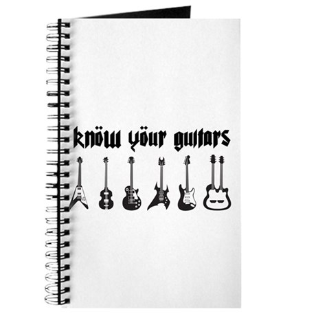 Know Your Guitars Journal