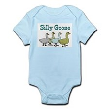 Silly Goose Pink Infant Bodysuit