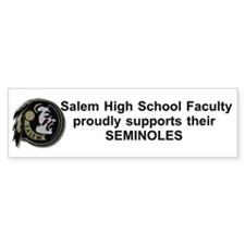 Salem Faculty Bumper Bumper Sticker