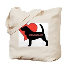 Love Beagles Tote Bag