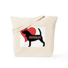 Love Beagles Tote Bag