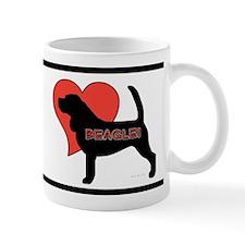 Love Beagles Mug