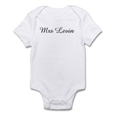 Mrs Levin Infant Bodysuit