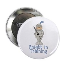 Knight in Training Button