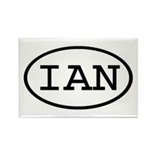 IAN Oval Rectangle Magnet (100 pack)