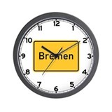 Bremen Roadmarker, Germany Wall Clock