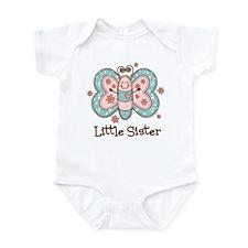 Butterfly Little Sis Infant Bodysuit