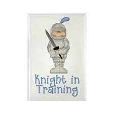 Knight in Training Rectangle Magnet (100 pack)