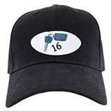 16th Birthday keys Baseball Cap
