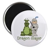 "Dragon Slayer 2.25"" Magnet (100 pack)"