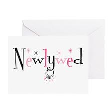 Newlywed Ring Greeting Card