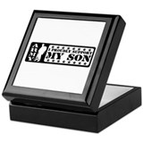 Proudly Support Son - ARMY Keepsake Box