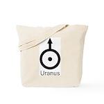 Uranus Symbol Tote Bag