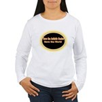 Save the Autistic Genius Women's Long Sleeve T-Shi