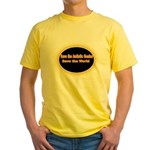 Save the Autistic Genius Yellow T-Shirt