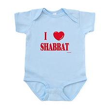 I Love Shabbat Infant Bodysuit