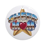 Cheer Mom Ornament (Round)