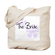 The Bride Lilac Flowers Tote Bag