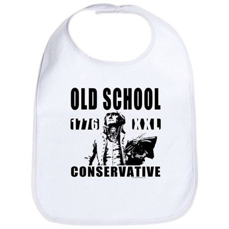 Old School Conservative Bib