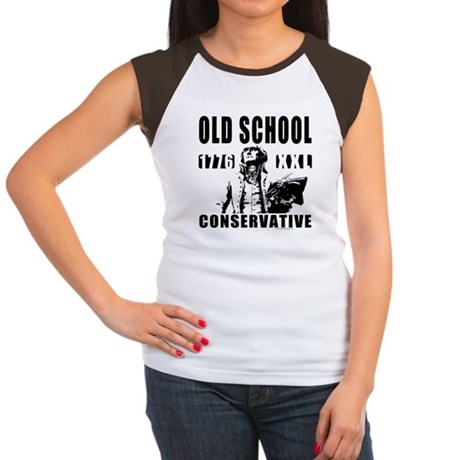 Old School Conservative Women's Cap Sleeve T-Shirt