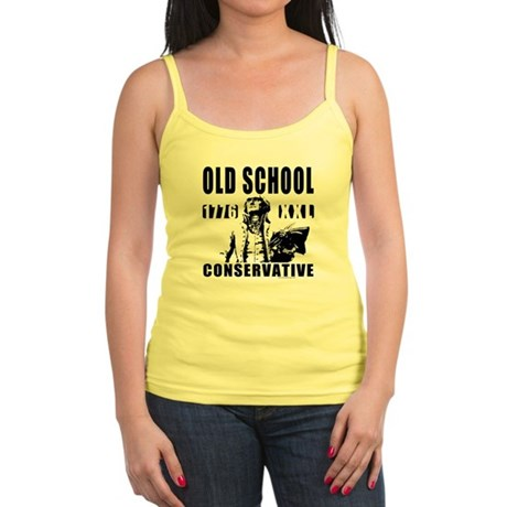 Old School Conservative Jr. Spaghetti Tank