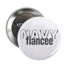 Navy Fiancee Button