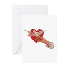 Victorian Valentine Greeting Cards (Pk of 10)