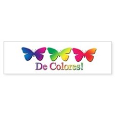 Butterfly DeColores Bumper Bumper Sticker