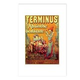Terminus Absinthe Postcards (Package of 8)
