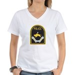 Omaha Nebraska Police Women's V-Neck T-Shirt
