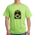 Omaha Nebraska Police Green T-Shirt
