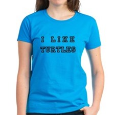 I Like Turtles Tee