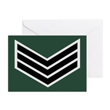 Black And Silver Chevrons<BR> Note Cards
