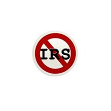 No IRS Mini Button (100 pack)