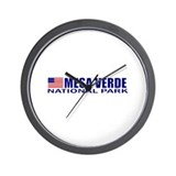 Mesa Verde National Park Wall Clock