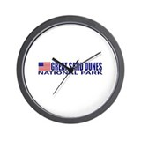 Great Sand Dunes National Par Wall Clock