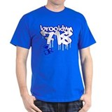 """BROOKLYN 718 GRAFFITI"" T-Shirt"