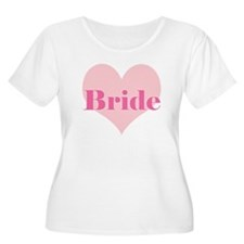 Bride pink heart T-Shirt