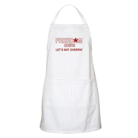FREEDOM COSTS BBQ Apron